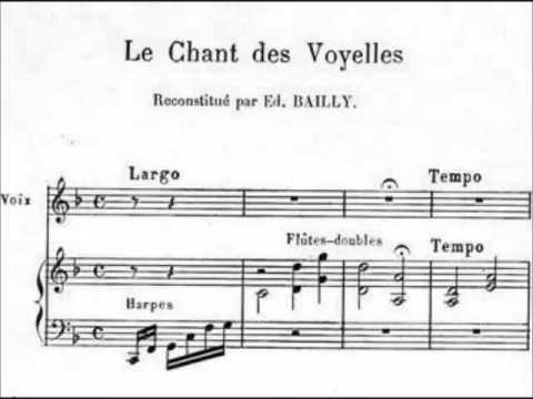 Ptôse  Voyelles