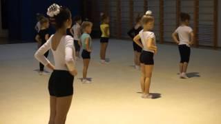Часть 1.  Открытый урок по гимнастике 01 ноября 2015(Как делать