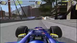 EA Sports F1 2002 Monte Carlo (Monaco) Street Circuit Hotlap