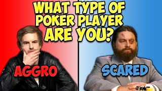 What type of Poker Player are you? What