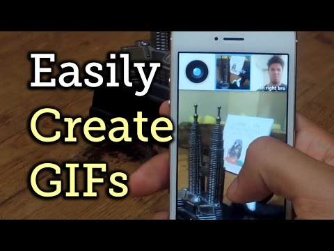 Create Your Own GIFs With Camoji For IPhone (iOS App) [How-To]