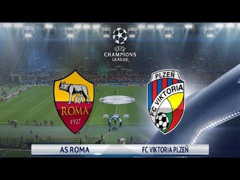 Roma Vs Viktoria Plzen - UEFA Champions League - Fase a Gironi | GamePlay thumbnail