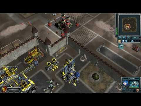 Red Alert 3: Uprising Commander's Challenge Tesla's Castle