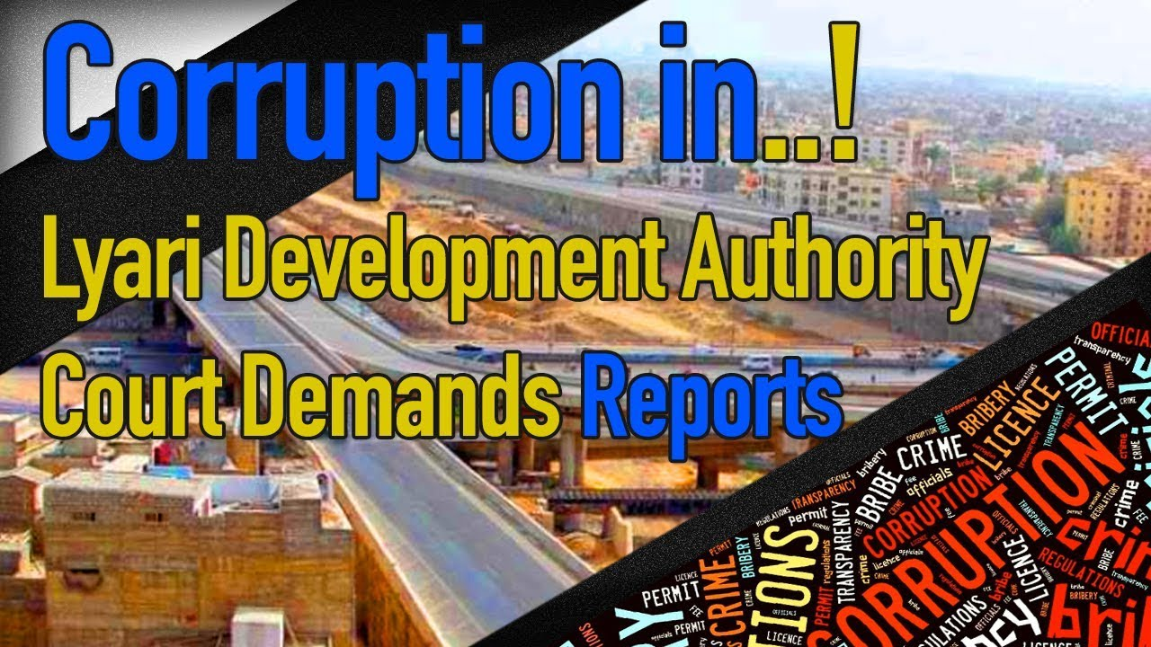 Corruption lyari Development Authority Court Demand Reports | Red News | Updated News 10th July 2018