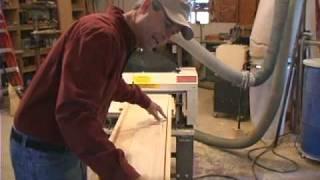 Woodmaster Planer/molder With Gary Striegler (part 2)