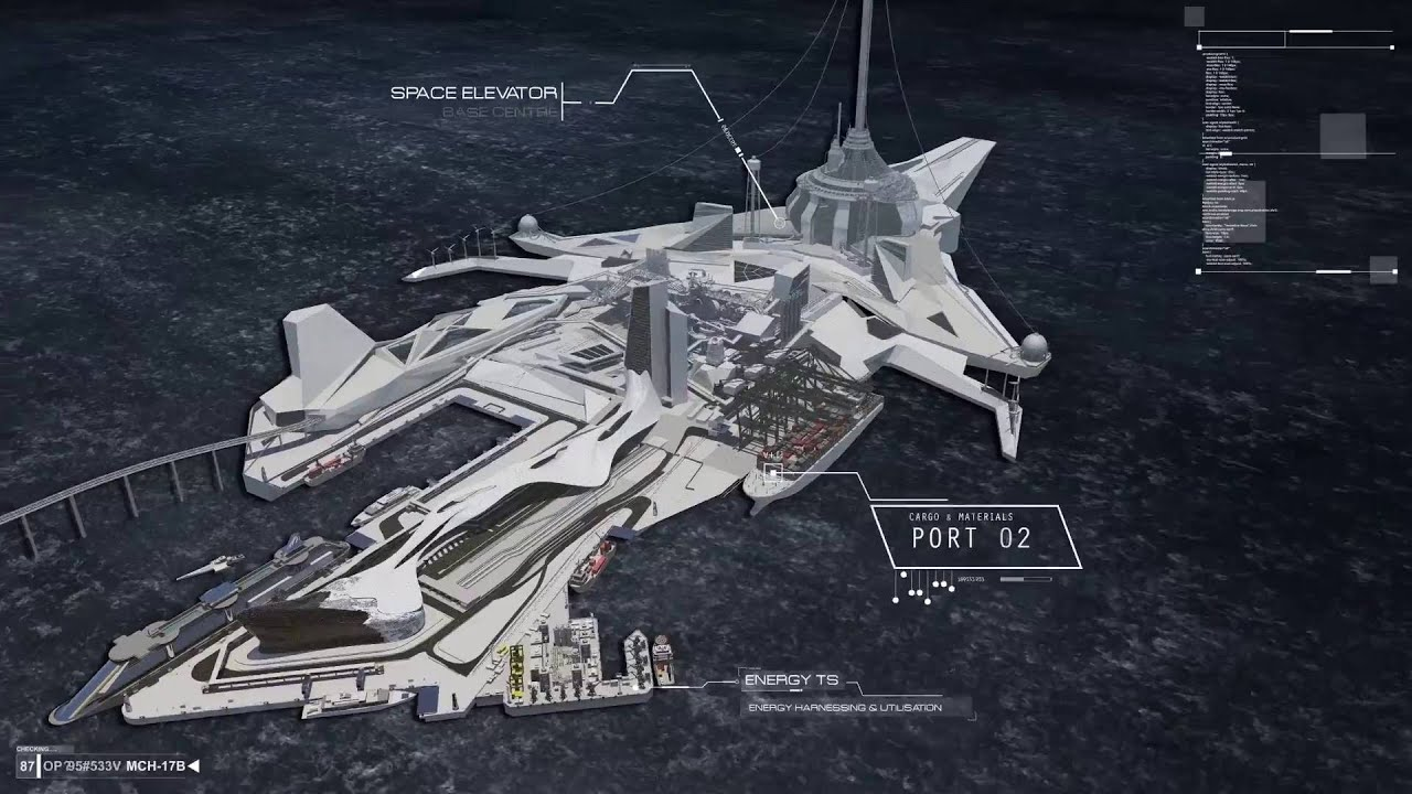 LONDON SPACE ELEVATOR ANIMATION: - Website of tomphillips!
