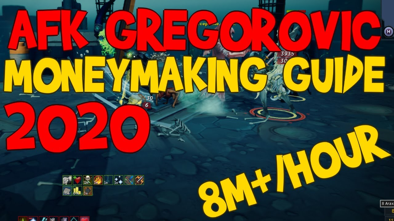 Download Runescape 3 - AFK Gregorovic Moneymaking Guide [8m+/Hour]