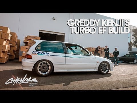 GReddy Kenji's Turbo EF Civic Build - CHRNCLS Vlog 2019 #16