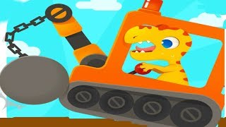 Dinosaur Digger Baby Play 6 powerful machines & Fun Baby Games Android / ios