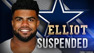 Ezekiel Elliott and What is WRONG with the NFL