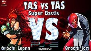 Orochi Leona VS Orochi Iori - KOF 98 UM - PS2 [TAS]