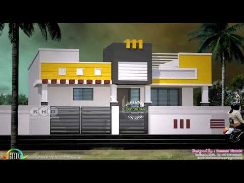House Front Elevation Designs For Single Floor In India - Gif Maker