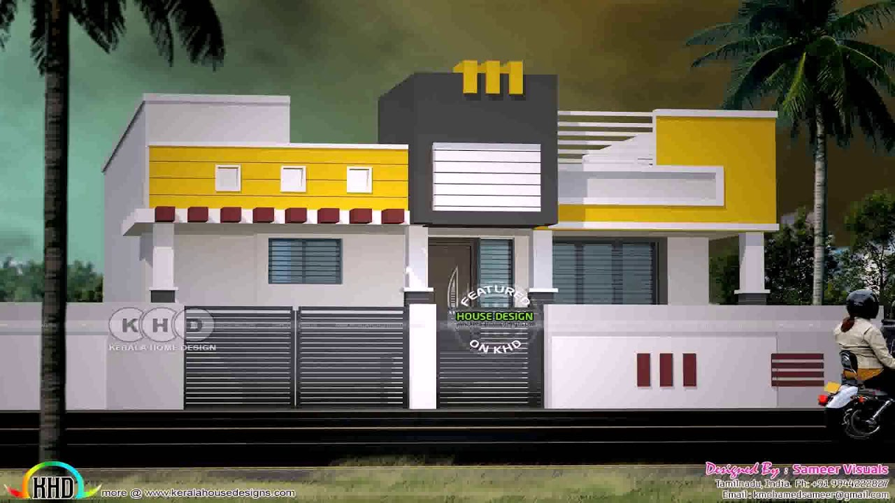 House Front Elevation Designs For Single Floor In India Gif Maker Daddygif Com See Description Youtube,Bedroom Cabinet Design With Dresser