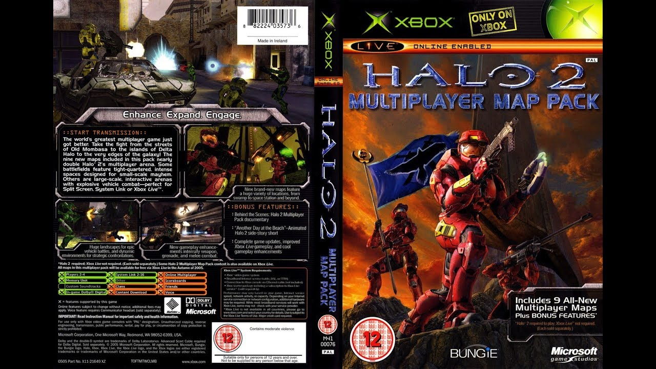 Halo 2 - Multiplayer Map Pack Bonus Video - Another Day at the Beach Halo Multiplayer Map Pack on