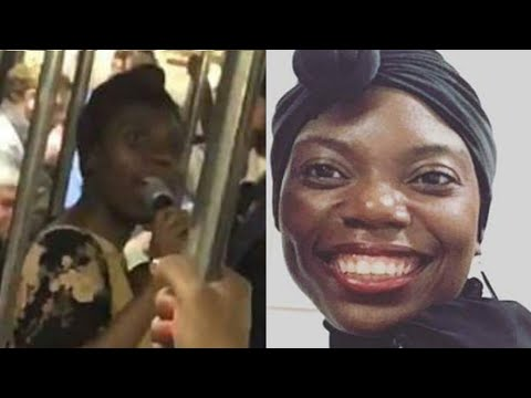 Woman and Subway Passengers sings 'Rock With You' by Michael Jackson