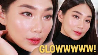 GLOWY and SPARKLY MAKEUP FOR CHR STMAS  Raiza Contawi