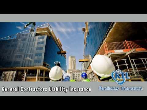 General Contractors Liability Insurance