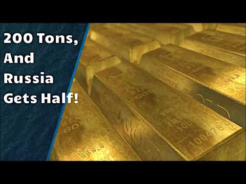 Sunken Russian Ship Found with 200 Tons of Gold!