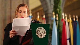 Discurso de Beatriz Gutiérrez Müller en cena de bienvenida por VI Cumbre de la CELAC