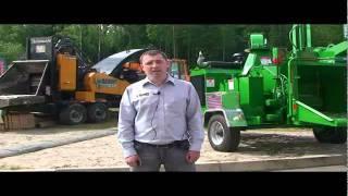 Трактородеталь, рубительные машины Bandit на выставке Интерлес Карелия