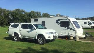 Belhaven Bay caravan & camping site, Dunbar.