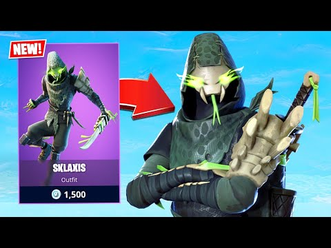 New Ninja Lizard Skin! (Fortnite Battle Royale)