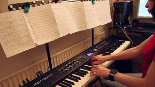 Machine Head - Descend the Shades of Night - piano cover
