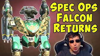 Return of the SPEC OPS FALCON! War Robots Mk2 Fun Gameplay WR