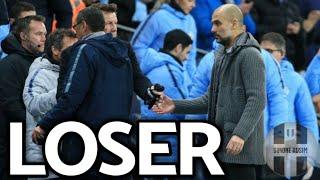 Sarri figuraccia con Guardiola. Che perdente! ||| Extra Avsim