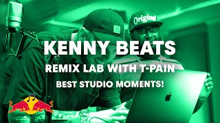 Kenny Beats and T-Pain In-Studio Highlights | Red Bull Remix Lab