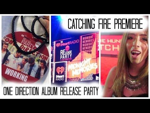 Lauren Elizabeth Weekly: Catching Fire Premiere & 1D Album Release Party