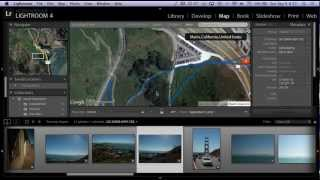 Geotagging DSLR photos automatically with a phone and Lightroom 4