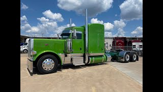 """JG & Sons new 310"""" 2022 Peterbilt 389 with 63"""" stand up sleeper 605/2050"""