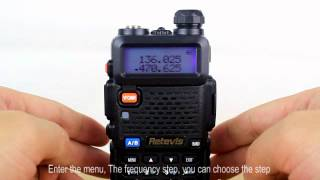 A7105A RETEVIS RT-5R Two-way radio walkie talkies