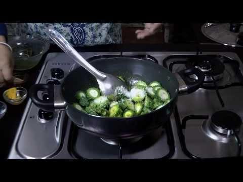 Karela stir fry - Karela Masala Sabzi Recipe