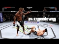 WHY EA SPORTS UFC 2 SUCKS - 24 Knockdowns