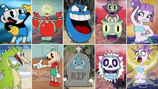 Cuphead - All Bosses with Mugman (No Damage)