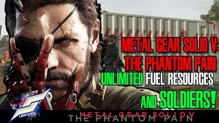MGSV:The Phantom Pain | How to get Unlimited Fuel Resources & Elite/Legendary Soldiers!