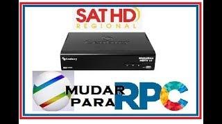 Como Mudar de Afiliada Globo no Receptor SatHd Regional