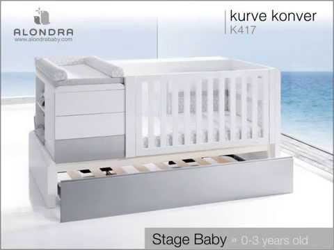 konver kurve 2014 cuna convertible alondra youtube. Black Bedroom Furniture Sets. Home Design Ideas