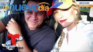 ¡Alessandra y Daniel nos cuentan su historia de amor!   Un Nuevo Día   Telemundo