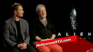 Alien Covenant Michael Fassbender Ridley Scott First interview