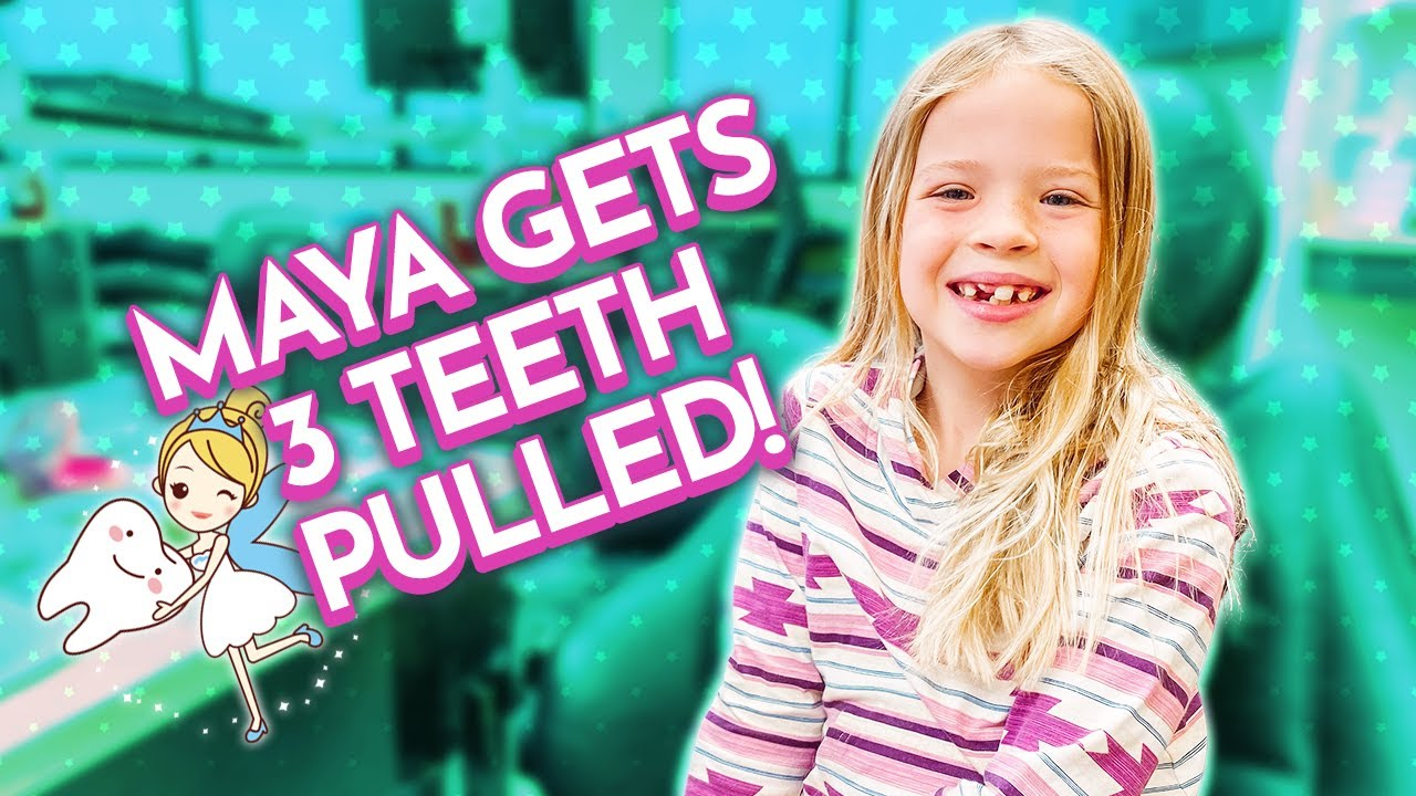 Download Maya Gets 3 TEETH PULLED and an EXPANDER !!!