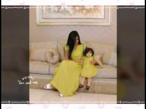 a44a4de76  صور فستان الام وبنتها الوصف 👇 - YouTube