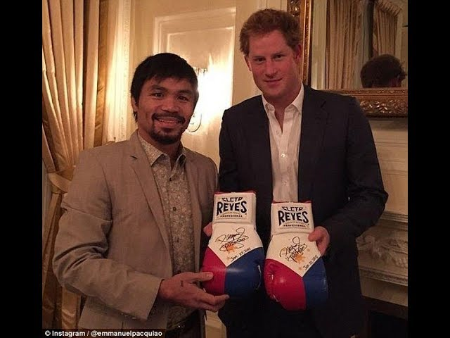 GRABE! BIGGEST HOLLYWOOD STARS at Retired Champs ginanahan kay Pacquiao! Gusto rumesbak!