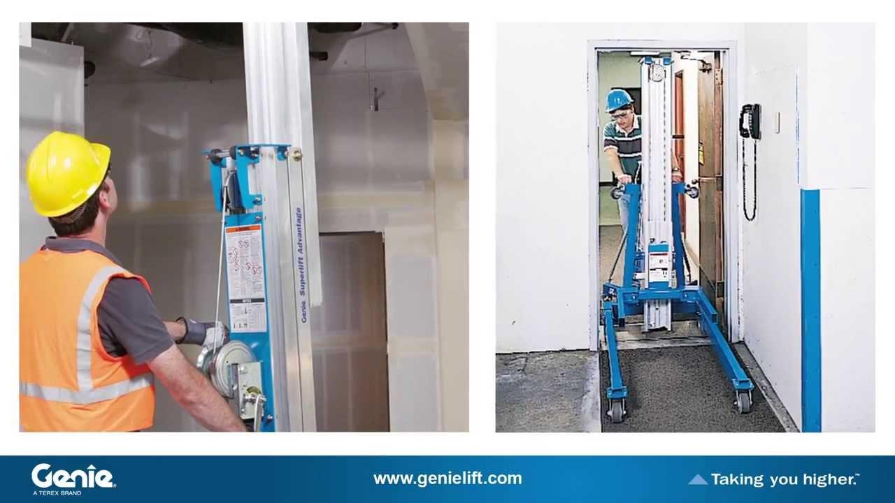 Rent a Material Lift | 12-21 Ft | 350-800 lbs  | Durante Rentals