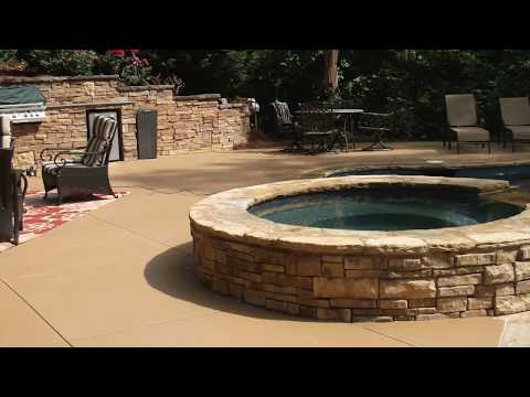 Decorative Concrete: Colored Concrete   Concrete Craft