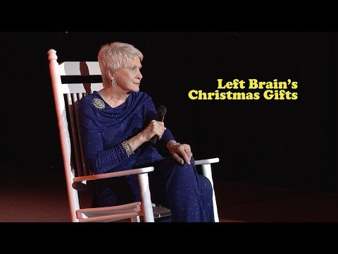 Jeanne Robertson | Left Brain's Christmas Gifts