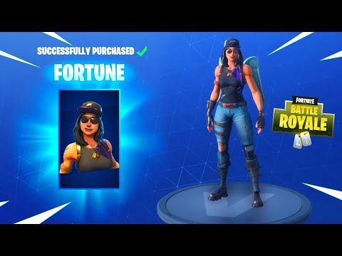 NEW MONIKER & FORTUNE SKINS - Fortnite Daily Reset & NEW Items In Item Shop