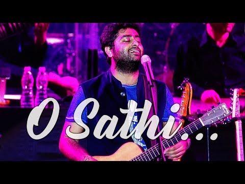 O Saathi - Live   Arijit Singh   BKC   Mumbai   12 NOV 2017   Shab